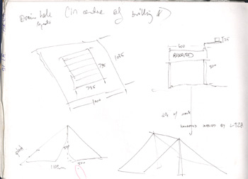 drawings of measurements for Brunswick tents